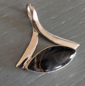 Jewelry - Pietersite Sterling Silver Pendant